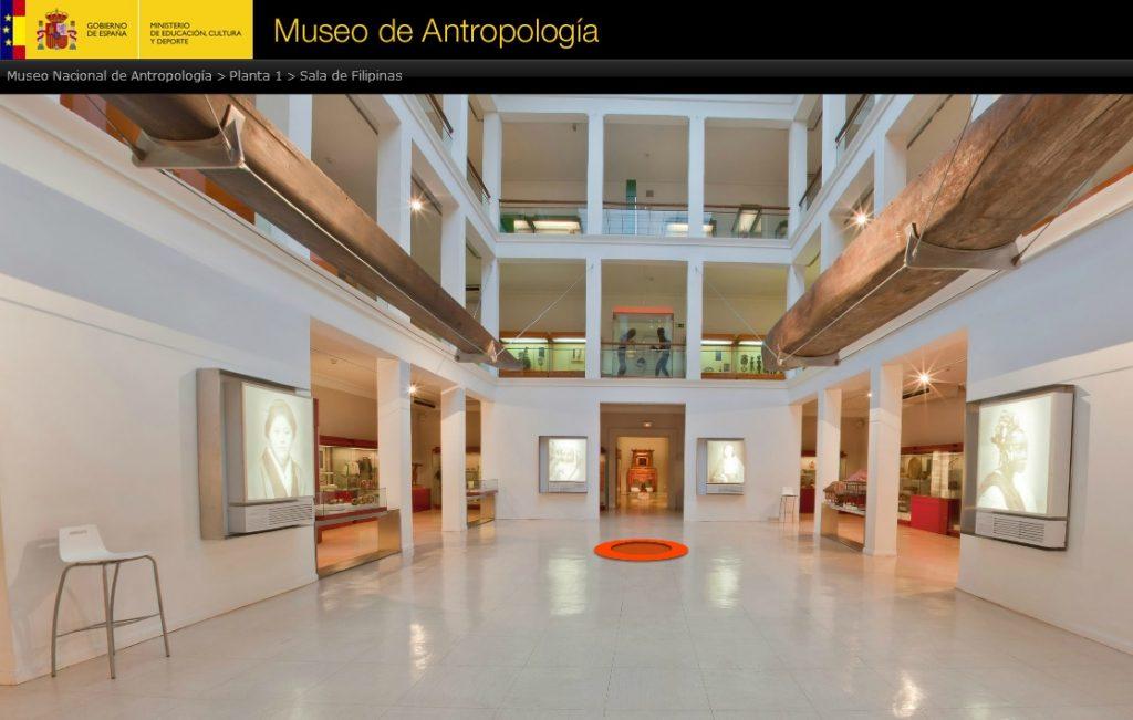 VISITA VIRTUAL MUSEO DE ANTROPOLOGIA DE MADRID